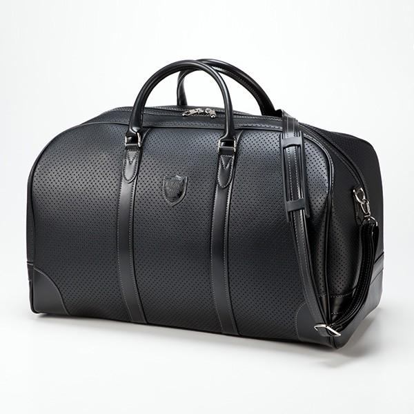 平野鞄 ブレザークラブ 日本製パンチング大割ボストン 10405