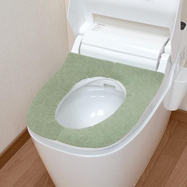 便座カバー 貼るタイプ ふかテックベンザシート 大型用 O型 U型 洗浄暖房型 洗える アンモニア消臭 おしゃれ 日本製 おくだけ吸着 サンコー|sanko-online|07