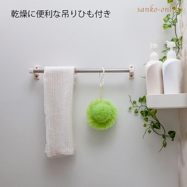 お風呂掃除 ブラシ スポンジ おすすめ びっくりふきちゃんクリーナー 水切り 日本製 びっくりフレッシュ サンコー ユニットバス 浴槽 用具 用品|sanko-online|12