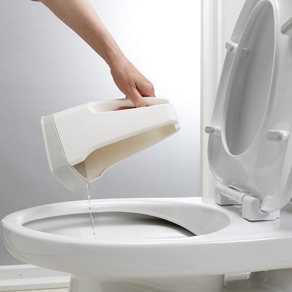 トイレブラシ おしゃれ 人気 清潔 掃除 収納ケース付 傷がつきにくい Pro仕様 サトミツ棒 サンコー やわらか  ホワイト びっくりフレッシュ 日本製 BH-41 sanko-online 10