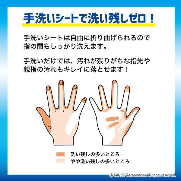 手洗い ブラシ 抗菌 おすすめ 持ち運び おしゃれ 20枚 日本製 インフルエンザ 風邪対策 子供 びっくりフレッシュ グレー サンコー sanko-online 03