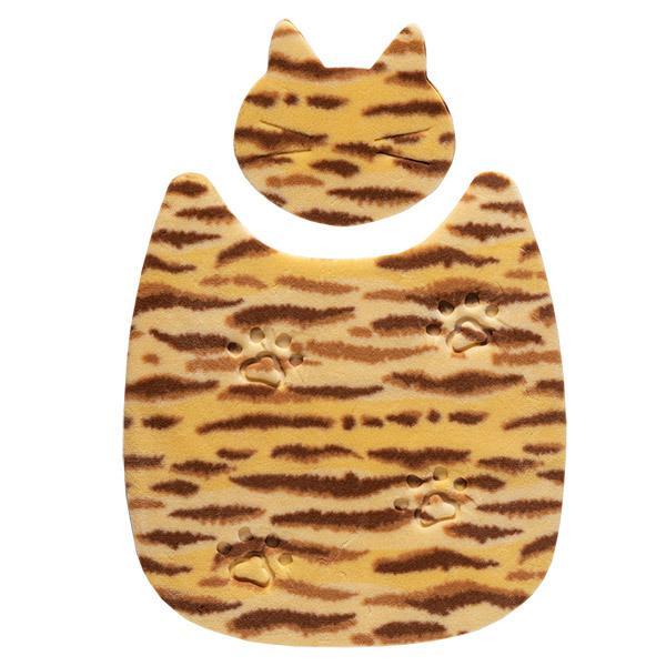ペットマット 洗える ネコ 滑り止め フローリング 暖かい 猫 ベッド ねっころ くつろぎ 床暖房 アンモニア臭 下敷き おくだけ吸着 サンコー sanko-online 13