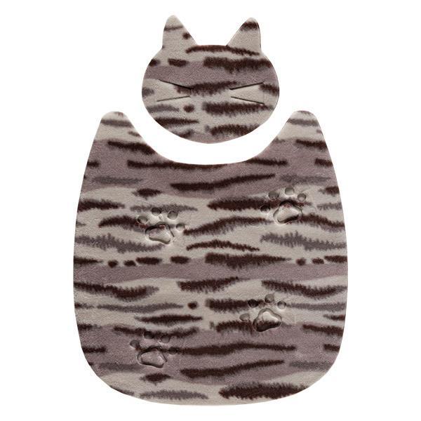 ペットマット 洗える ネコ 滑り止め フローリング 暖かい 猫 ベッド ねっころ くつろぎ 床暖房 アンモニア臭 下敷き おくだけ吸着 サンコー sanko-online 14