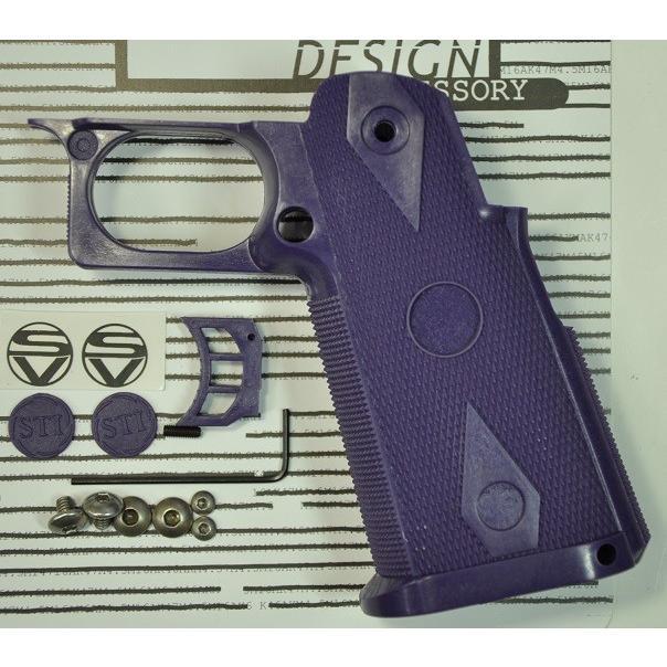 SD グリップ 東京マルイ Hi-Cap5.1/4.3用 フルサイズ 紫の GSMS940PL-6000