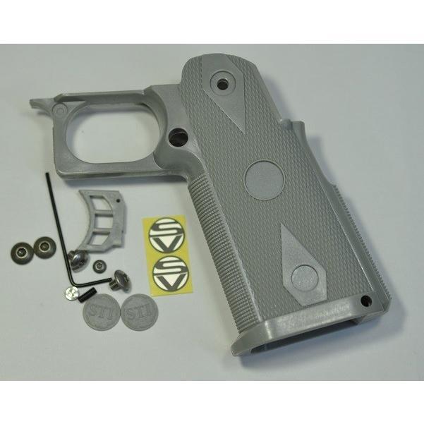 SD グリップ グレーカラー 東京マルイ Hi-Cap5.1/4.3用 フルサイズ GSMS940GY-6000