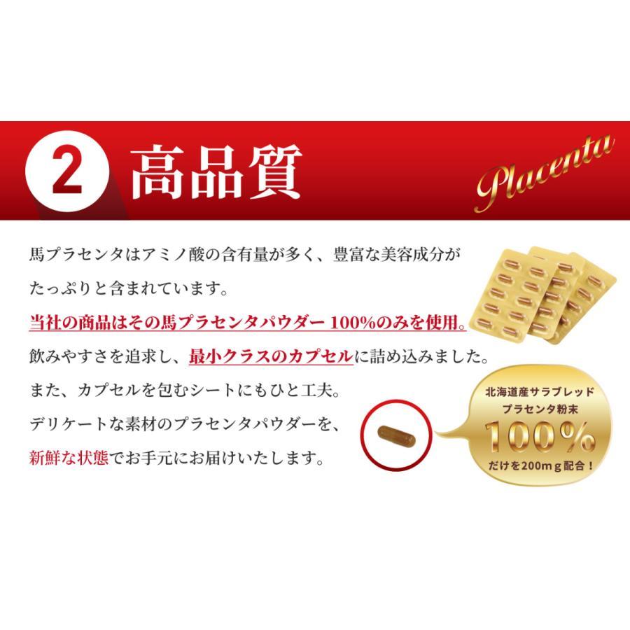 サラブレッドのプラセンタ サプリ 30粒入り ダイエット 健康|sankyo-bio|06