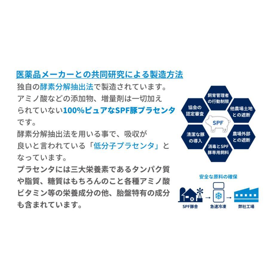 豚プラセンタ サプリ 30粒入り SPF ダイエット 健康 sankyo-bio 05