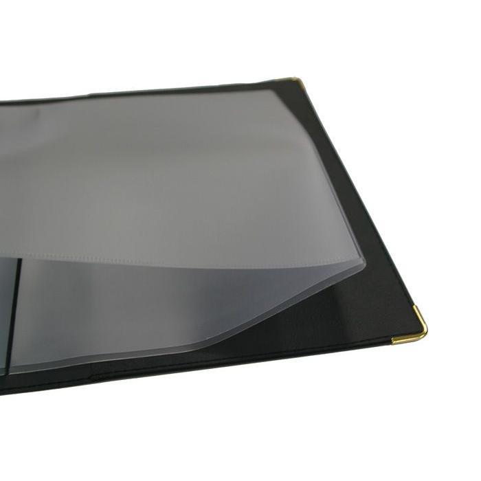 車検証カバー 車検証 ケース オリジナル 車検証入れ レザー調 PVCレザータイプ(ライクレザーブラック)送料無料|sankyo-co|05