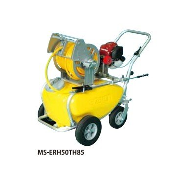 4サイクルエンジン式小型動噴「ガーデンスプレーヤー」MS-ERH50TH85:50リットル