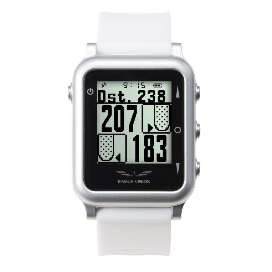100%本物保証! アサヒゴルフ EAGLE VISION GPS watch4 ユニセックス EV-717 ホワイト, ミラドールトモダ c9027b23