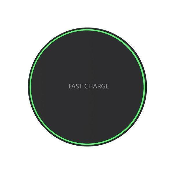 ワイヤレス充電器 最大 10W 急速 iPhone 12 / 12Pro 等QI充電に対応 置くだけ充電 ブラック ホワイト 定番|sanosyoten|11