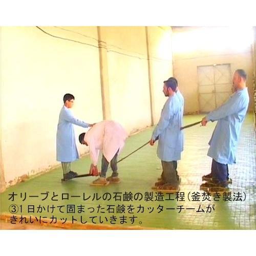 石鹸 オリーブとローレルの石鹸(ノーマル)2個セット sanosyoten 05