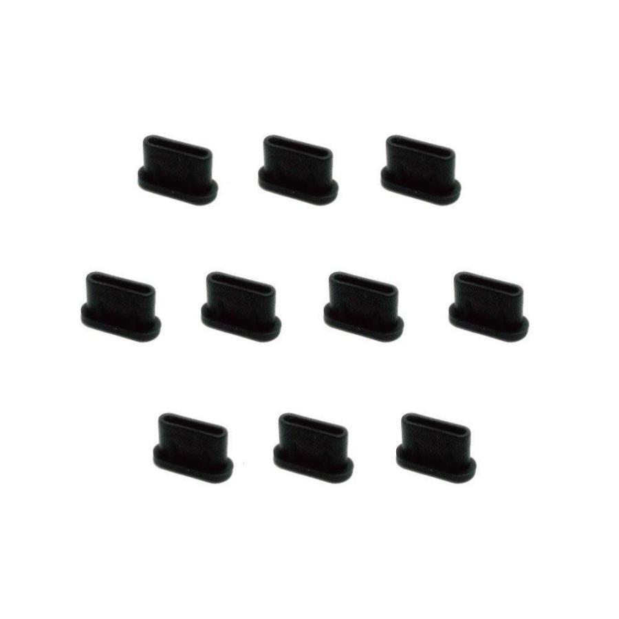 monofive USB3.1 Type-Cポート防塵保護カバー・キャップ(10個入り) シリコンタイプ MF-TYPEC-C10B|sanosyoten