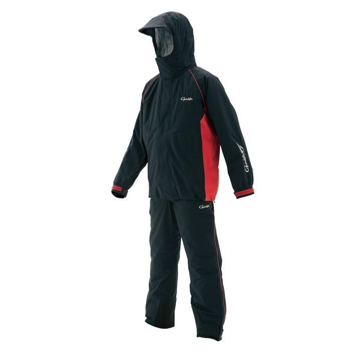 【40%OFF】がまかつ(gamakatsu) 防寒具 ライトオールウェザースーツ GM-3459 ブラック 3L