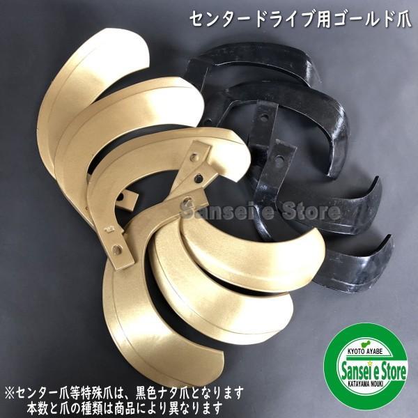 三菱 トラクター用 耕うん爪スーパーゴールド爪セット 36本組 [SY64-126]