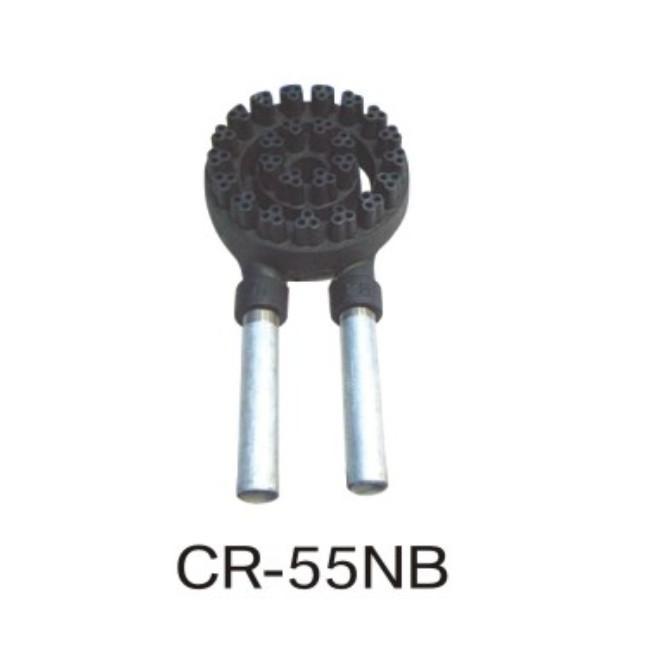 CR型中華レンジ(タニコー)・タニコー炒め用三つ葉バーナー(混合管付) 厨房機器 調理機器 CR-55NB φ200*H63(mm)