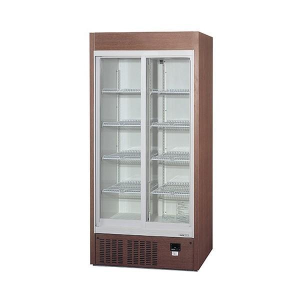 業務用 冷蔵ショーケース パナソニック幅900 茶色 [ 容積:536L・単相100V ]SRM-RV319SMB W900mm*D450mm*H1900mm