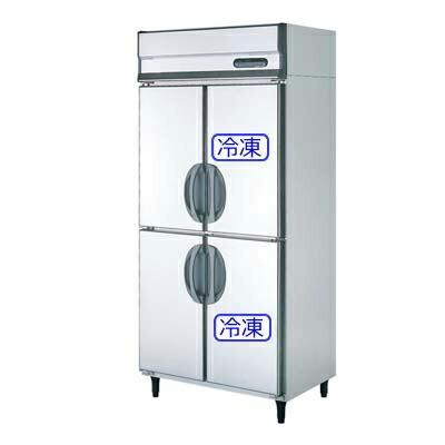 フクシマ 業務用冷凍冷蔵庫 [ 幅900・薄型・内装ステンレス鋼板・単相100V ] URN-092PM6(旧:URN-092PM3) W900*D650*H1950