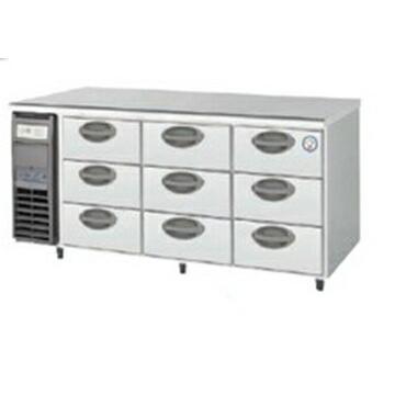 【新品・送料無料・代引不可】フクシマ 業務用ドロワー冷蔵庫 YDC-160RM2 W1650*D600*H800