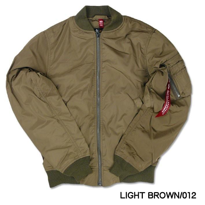 ALPHA アルファ L-2B フライトジャケット ボンディング L2B MA-1 ライト 春物 ミリタリージャケット メンズ アウター TA1450 sanshin 04
