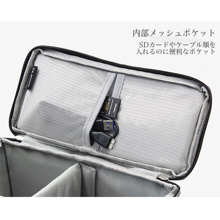 カメラバッグ 一眼レフ バッグ ショルダー カメラケース レンズ収納 おしゃれ|sansuiya|12