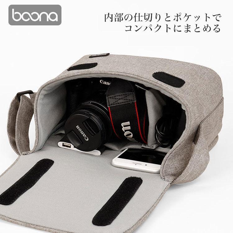 カメラバッグ 一眼レフ バッグ ショルダー カメラケース レンズ収納 おしゃれ|sansuiya|05
