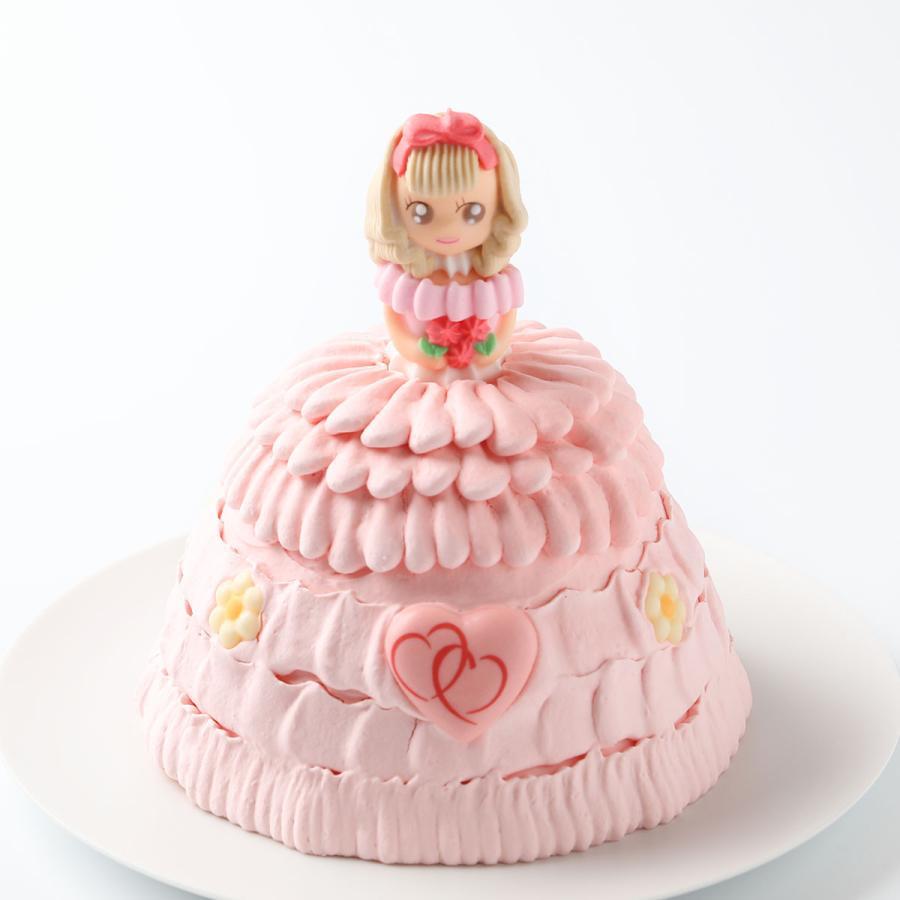 立体ケーキプリンセス5号:誕生日ケーキ 結婚記念日、お祝いのプレゼント、ひなまつり、母の日:送料無料 敬老の日