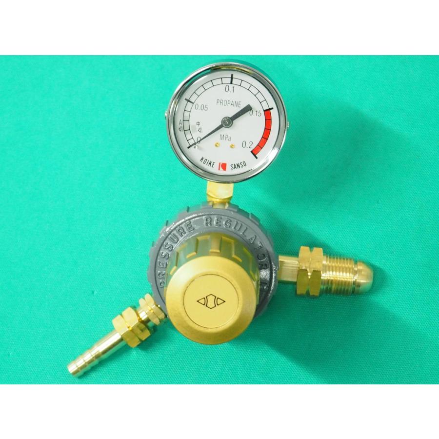 工業用LP(プロパン)調整器 小池製 / セーフティゴールドSGII-LPG (#36171)