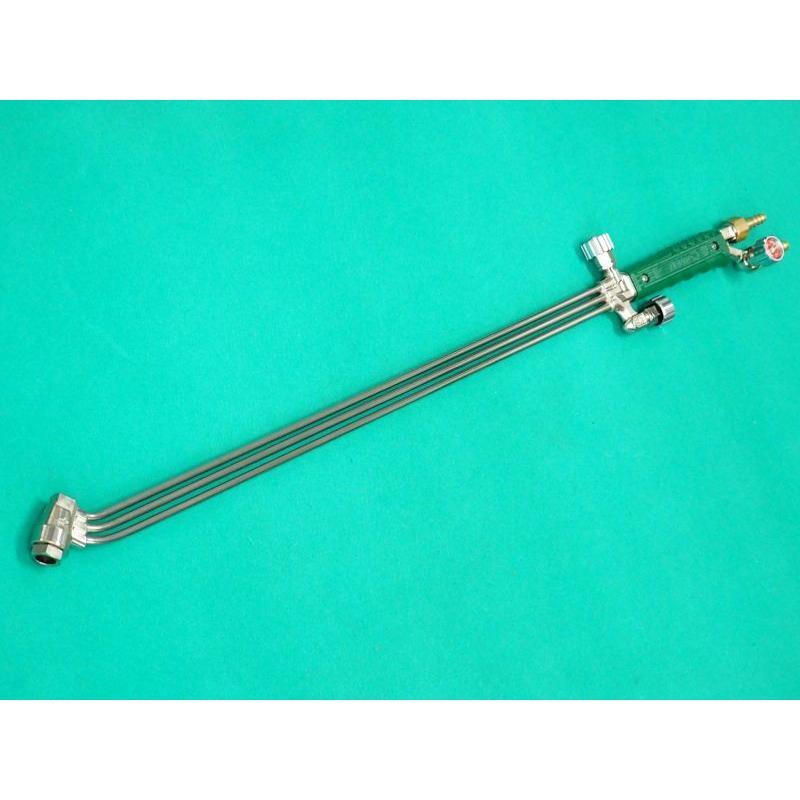 千代田精機 中圧切断器 ストロング-8 頭45度 全長80cm バルブ式 本体のみ 別注品