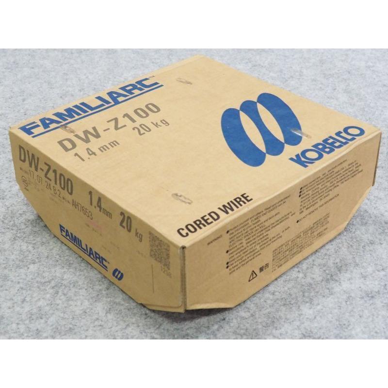 全姿勢用フラックス入りワイヤ DW-Z100 1.4mm 20kg / 神戸製鋼所