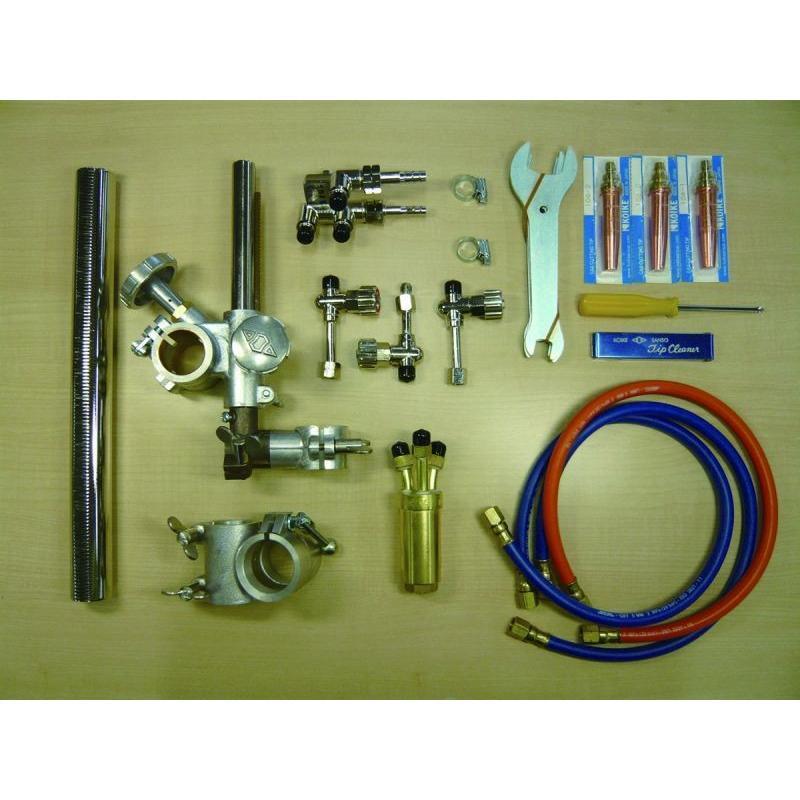 自動直線切断機 IK-12 max3用 F型1本トーチセット 小池酸素工業