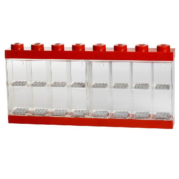 LEGO レゴ レゴミニフィギアディスプレイケース/16 ブライトレッド 収納 レゴブロック コレクションボックス フィギュア 5711938023607 40660001 正規品