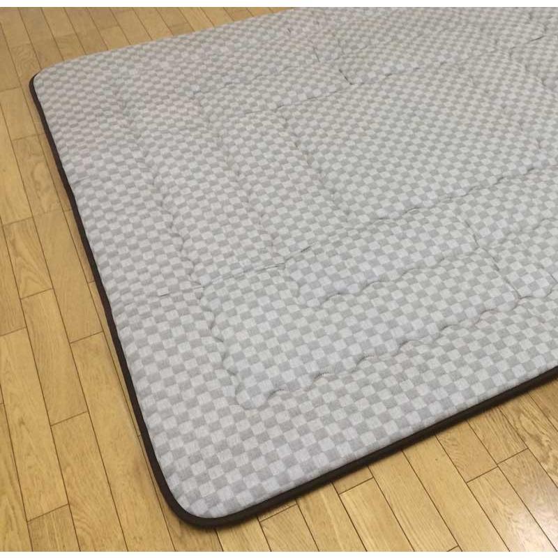 長方形こたつ大判敷布団(ラグ/カーペット) 大判190×290サイズ クレタ ベージュ色