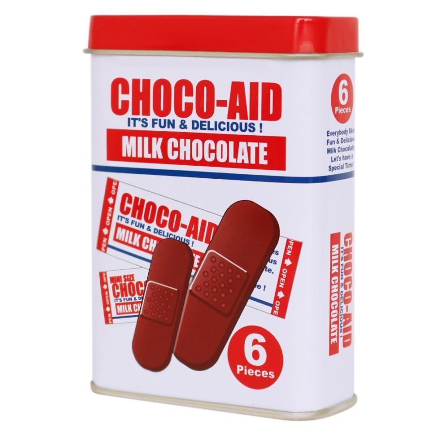 貼ったら溶けるよ!絆創膏型のチョコ、「チョコエイド」