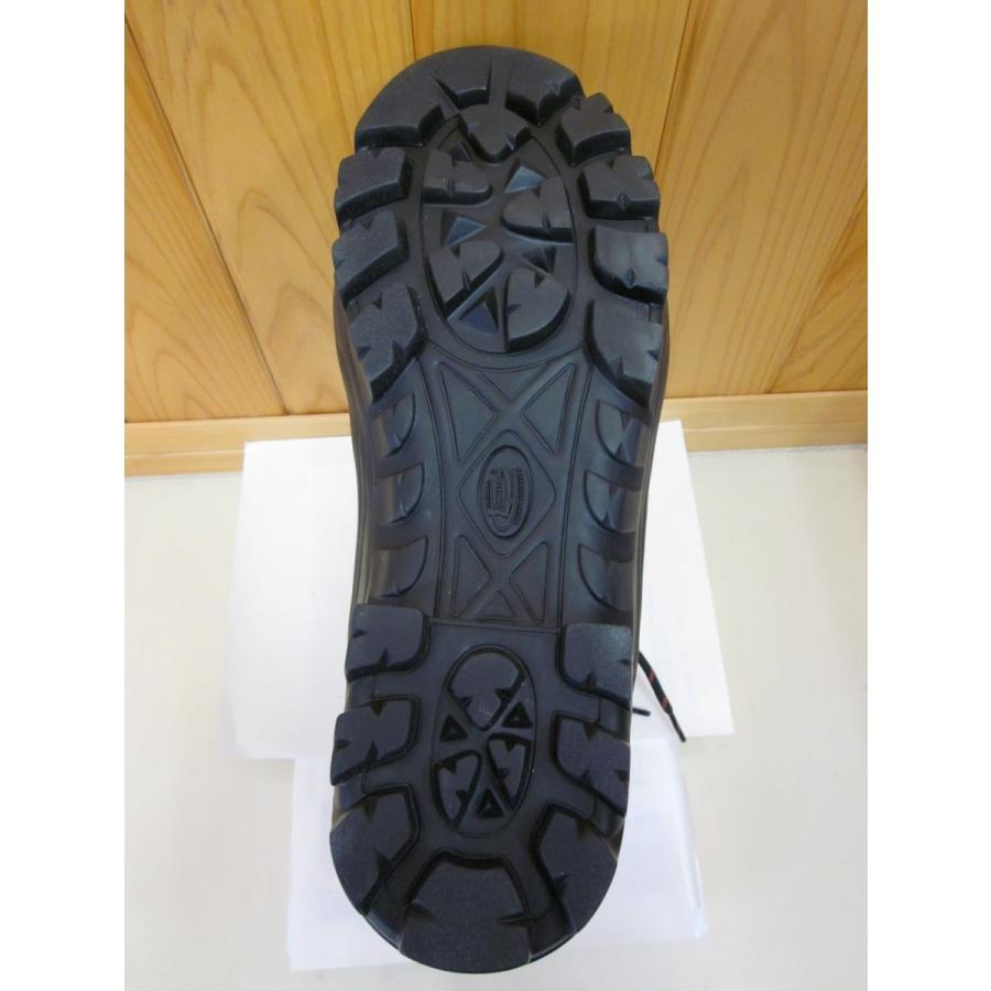 チェーンソー防護ブーツ チェーンソープロテクションブーツ 黒 ブラック ウッドマン2  イタリア ロングストン社製 クラス2 ビブラムソール 安全靴|sanyosyoji|02