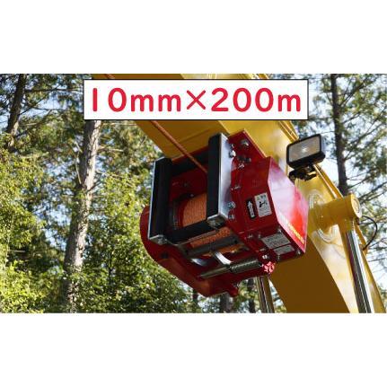 林業集材用繊維ロープ 東京製綱繊維ロープ エースライン 10mm 200m 林業 集材 国内メーカー製 ロープ 安全 軽い 柔らかい 滑りがいい 簡単|sanyosyoji
