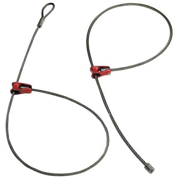 チョーカー付きワイヤーロープ ワイヤー径11mm 長さ2m|sanyosyoji