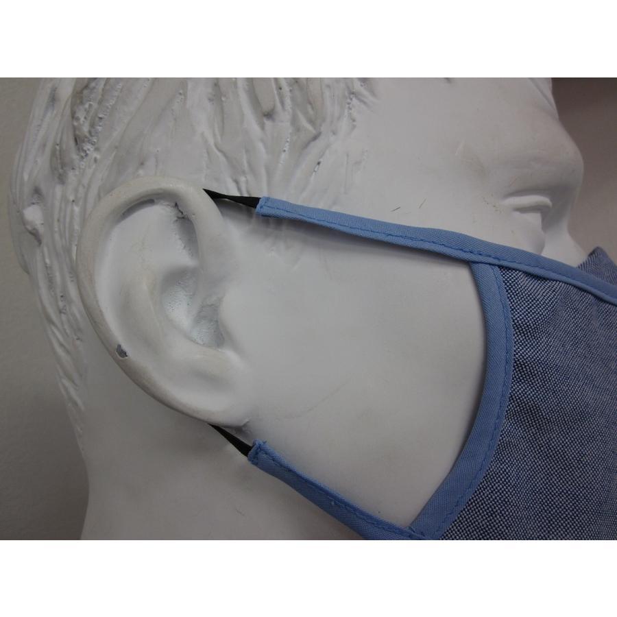 マスク 国産 吸水速乾 蒸れにくい 抗菌加工 臭いにくい 水色 おしゃれ かっこいい Dry mask 海外発送可能|sanyosyoji|04