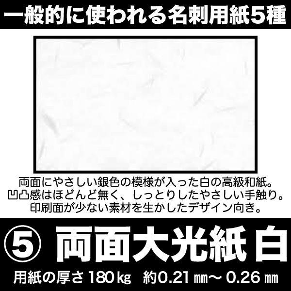 名刺 簡単注文 お値段以上 激安 仕事用 プライベート用 ペット用名刺 sanyu-kousan 12