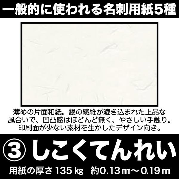 名刺 簡単注文 お値段以上 激安 仕事用 プライベート用 ペット用名刺 sanyu-kousan 10