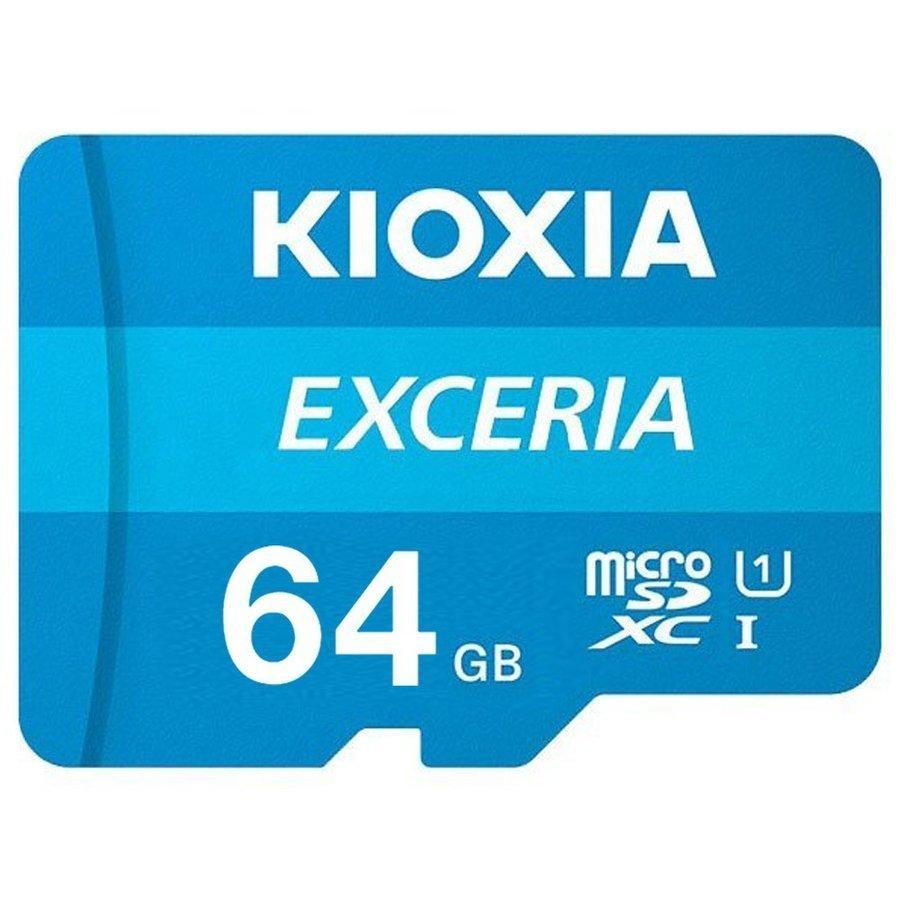 KIOXIA (旧東芝) マイクロSD microSDXCカード 64GB 64ギガ クラス10 過渡期につき柄変更あり saponintaiga