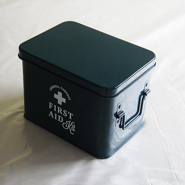 ホーロー・エイド缶Sサイズ(kon)|sara-style
