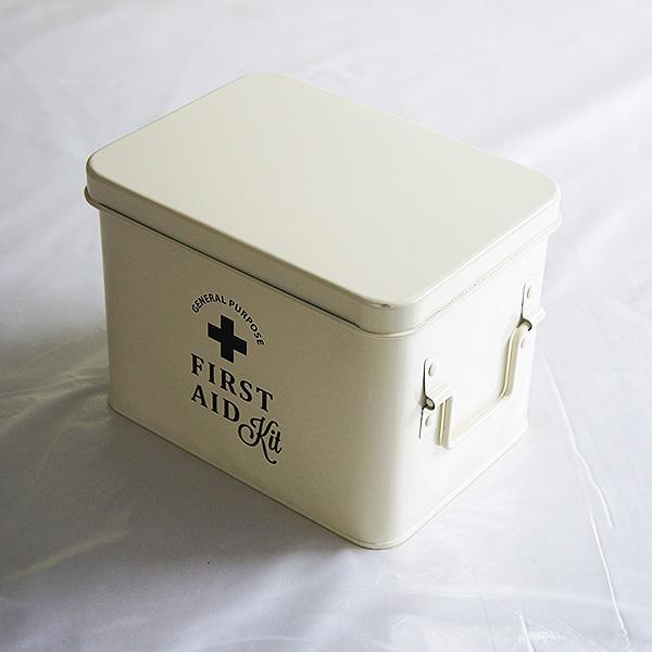 ホーロー・エイド缶Sサイズ(white)|sara-style