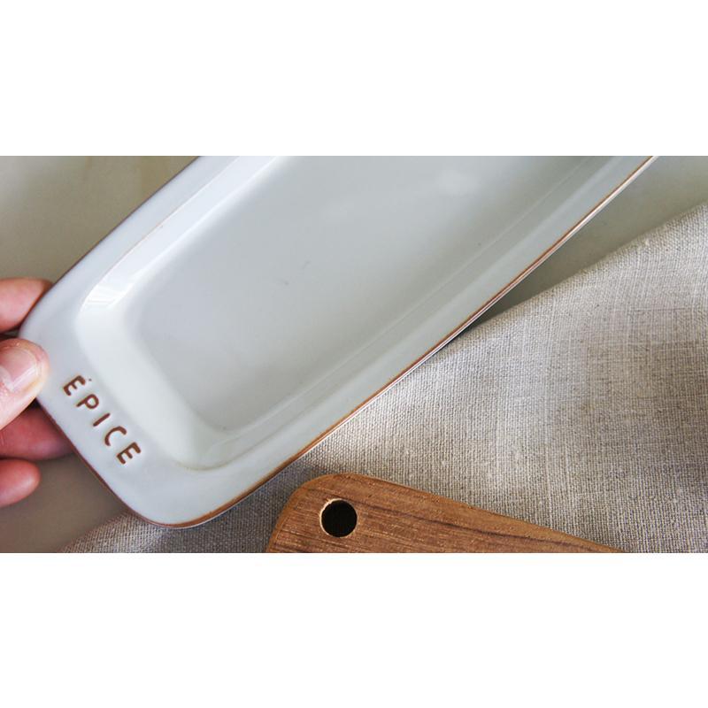 陶器の長皿トレイ|sara-style|04