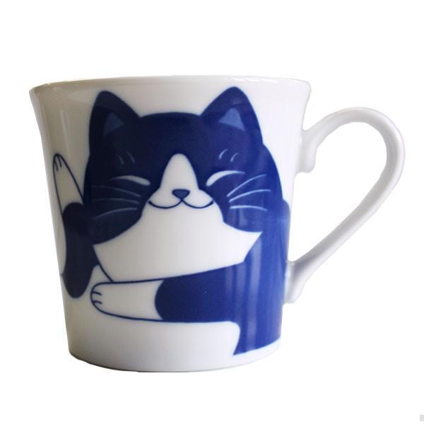 (業務用・マグカップ)ねこちぐらハチワレYKマグ(小)うすかる(入数:5) sarara-tt