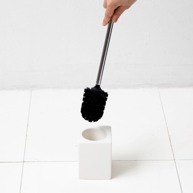 トイレ掃除 ホテルライク 陶器 セット [b2c セラミック トイレブラシ S]|sarasa-designstore
