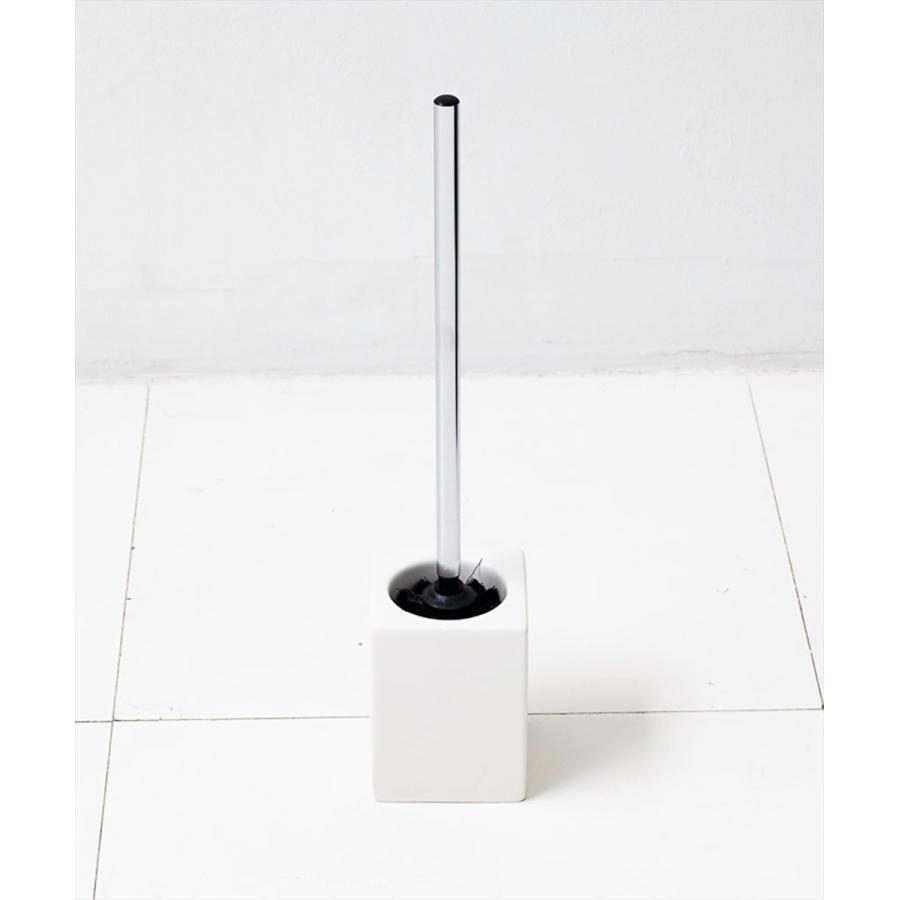 トイレ掃除 ホテルライク 陶器 セット [b2c セラミック トイレブラシ S]|sarasa-designstore|02