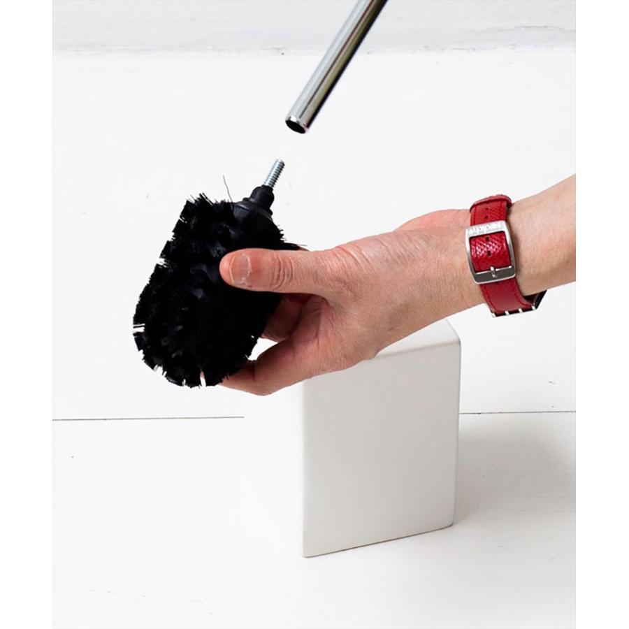 トイレ掃除 ホテルライク 陶器 セット [b2c セラミック トイレブラシ S]|sarasa-designstore|03