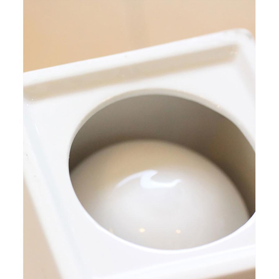 トイレ掃除 ホテルライク 陶器 セット [b2c セラミック トイレブラシ S]|sarasa-designstore|06
