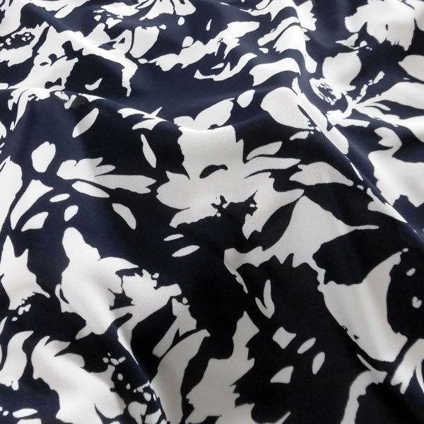 【小紋工房】PE強燃スムースニット(KDP1999-150)ダークネイビー 生地巾102cm 数量1(50cm)400円  国産|sarasa-nuno|09